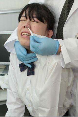 【鼻水マニア必見】桜庭うれあちゃんの号泣耳鼻科観察