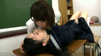 濃厚ベロ接吻+顔面舐め1~肉厚ベロ教師の傾いた愛情表現~