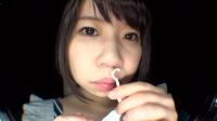 フェチ:ゆきなちゃんの鼻水まみれ近距離くしゃみ(通常版+3D)