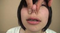 フェチ:羞恥プレイりんちゃんの鼻いじめ(通常版+3D)