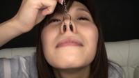 フェチ:シャイな女の子の鼻観察と鼻水ディルド手コキ 羽多野しずく(通常版+3D)