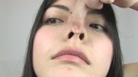 フェチ:豪快なくしゃみ!鼻水・鼻観察 かすみさん(通常版+3D)