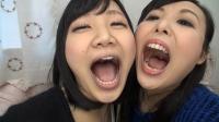 フェチ:相互口内自撮り観察レズ 星川麻紀×横山夏希
