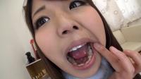 水谷杏ちゃんの舌・口内自撮り(通常版+3D)