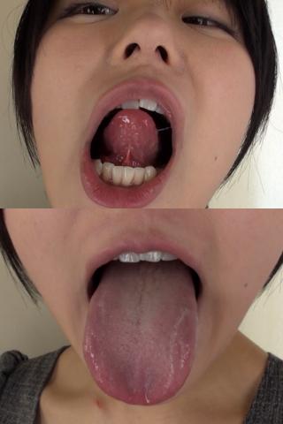 武藤つぐみちゃんの歯・口内自撮り(通常版+3D)
