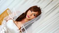 フェチ:ウエディング女装子のアナル拡張