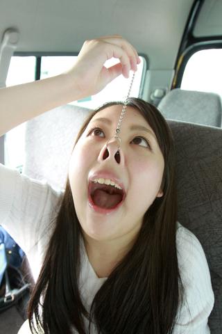 あおいちゃん鼻観察(通常版+3D)