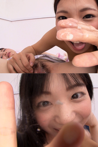 (通常版+3D)主観見せ付け淫語レズ バーチャル唾液マン汁塗り付け