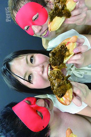 大食い世界大会出場経験アリ 大食いフードファイター美山さつきの自分のでっかいウンコをガチで食ってみた
