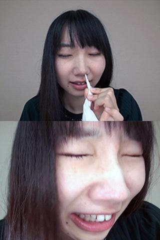妹系かなこちゃんの鼻観察(通常版+3D)