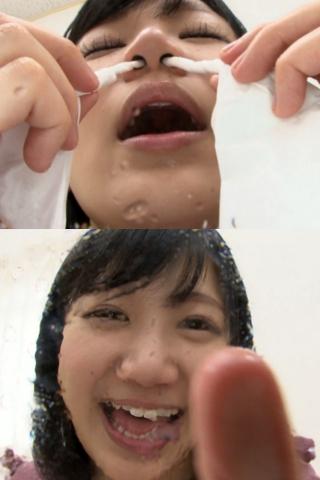 恋人気分でバーチャル鼻観察・くしゃみ鼻水 星川麻紀(通常版+3D)